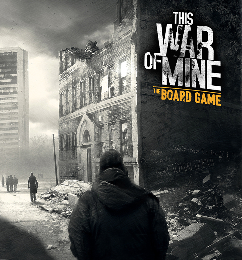 Okładka do This War of Mine: The Board Game